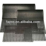 Rubber Interlocking Mat With Holes Grass Drainage Bar Shed rubber floor mat