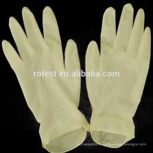 gants universels jetables en latex