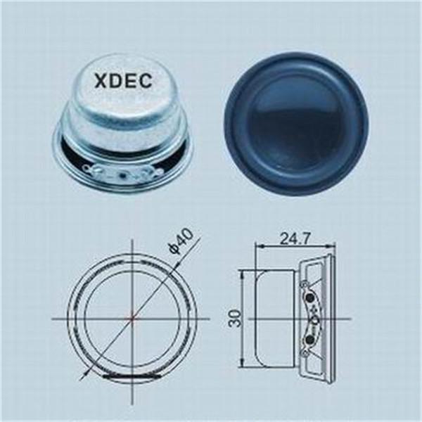 40mm speaker small speaker
