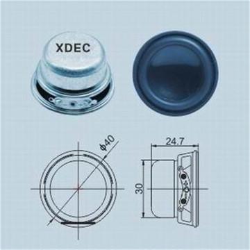 Haut-parleur 40mm 4ohm 3w petit haut-parleur