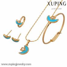 60639 Xuping novo design 18k banhado a ouro baby set