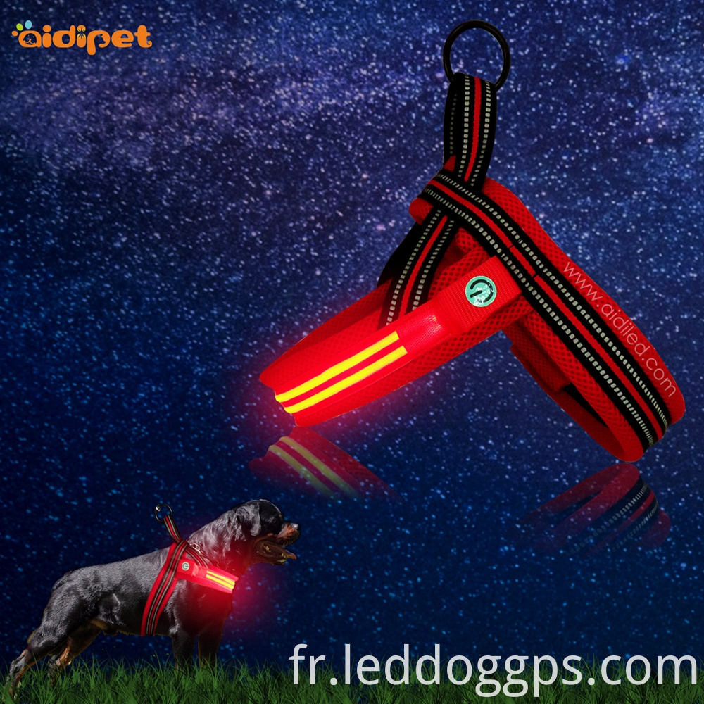 Led Glow Up Dog Harness