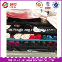 estoque de popeline tecido poli algodão camisa planície tingida t / c popeline tecido 65/35 45x45 133x72