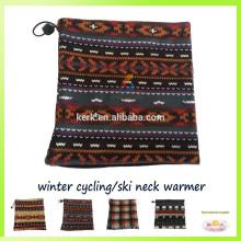 Bufanda promocional del esquí de las gorritas tejidas del calentador del cuello del pasamontañas del paño grueso y suave polar
