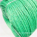 Green PP Splitfilm Twist Rope