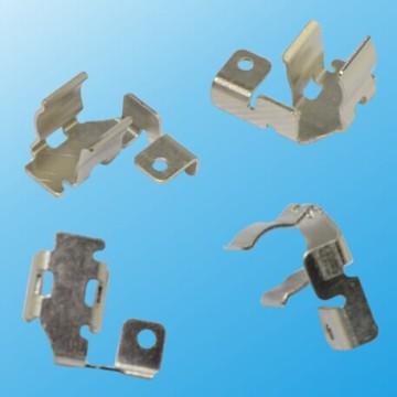 Pièces en métal électriques en laiton avec placage en nickel ou étain (HS-MP-022)