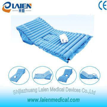 Anti decubitus air mattress with pump for bedsores treatment