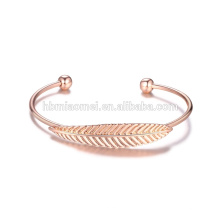 gros rose or chanceux bracelet bracelet en alliage
