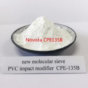 Aditivos de caucho Polietileno clorado CPE-135B