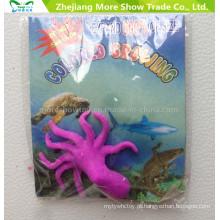 Os animais crescentes do oceano dos brinquedos da água expandem brinquedos