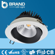 Alta qualidade Dimmable LED Down Light 20W, Dimmable COB Down luz, CE RoHS Aprovação