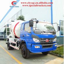 FOTON 4CBM Mini mixer truck, 4X2 Concrete Mini Mixer Truck for low price