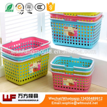 2018 China cheap plastic injection mold making Plastic laundry baskets mould