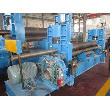 Máquina de rolamento simétrica hidráulica de 3 rolos W11y