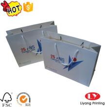 Bolsa de papel a todo color con logo impreso