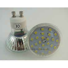 New 450lm Glass Housing with Cover 5W GU10 2835 SMD LED Bulb