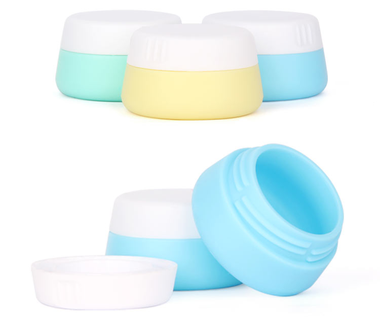 silicone cream jar