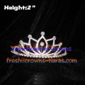 2inch Mini Crystal Crowns