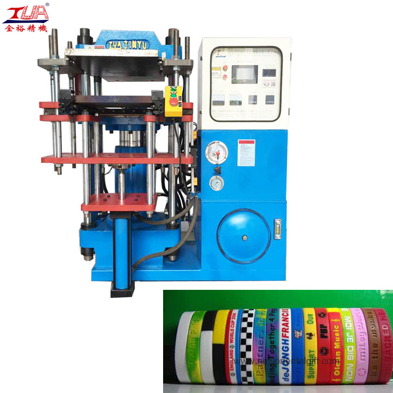 Logo Custom Souvenir Silicone Rubber Wristbands Machine