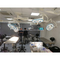 Surgical equipment wall mounted led operating light