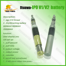 Electronic Cigarette EGO Battery with High Range (IPO V2)