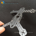 customized forged glossy 500x500x2mm carbon fiber plate custom for multi use