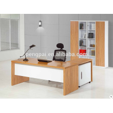 main sale tint durable boss manager working table with side desk