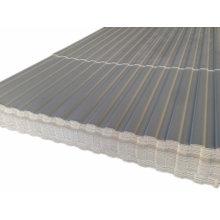 Feuille de mur ondulée de PVC d'utilisation extérieure