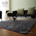 microfibre polyester shaggy pas cher gros tapis
