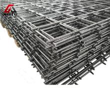 4x4 negro / cercado soldado con autógena galvanizado del panel de malla de alambre