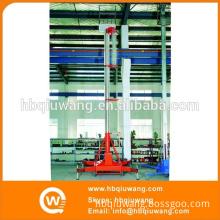 Single Ladder Metal Engraving Machinery Platform