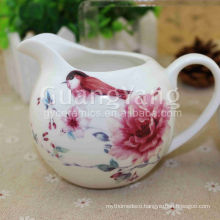 Customized Logo Enamel Ceramic Teapots Wholesale