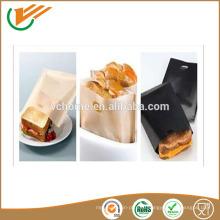 2015 PTFE антипригарные многоразовые мешки для печенья сэндвич-карманы для тостов