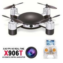 MJX X906T 2MP Camera Radio Control Helicopter 5.8G FPV Real Time Transmission Headless Mode RC Drone Quadcopter