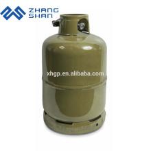 Padrão ISO 4.5KG LPG Recipiente de tanque de gás para o Zimbábue