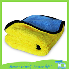 100% Polyester Drying Polishing Microfiber Car Towel