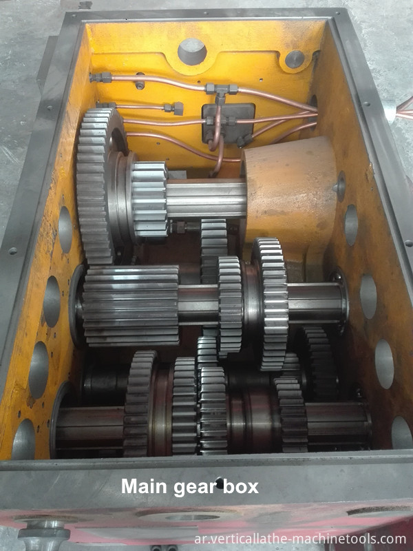 Flange facing machine
