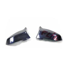 Carcaça de espelho lateral de fibra de carbono para BMW Série 5 F10 / F18