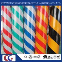 Doppelfarbe 1,24 m Breite Acryl Reflektierende Folie