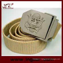 Suisse ceintures boucles de ceinture en métal armée tactique taille ceinture