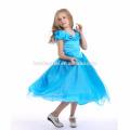 Cendrillon cospay robe en costume de télévision et film 2016 nouveau design bleu couleur robe de princesse dessins