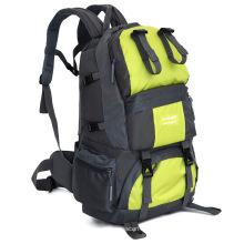50L Big Volume Waterproof Nylon Outdoor Camping Backpack Bag (YKY7286)