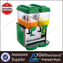 K698 Dispensador de bebidas com dois cabos de 24 litros / preços do dispensador de suco