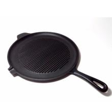 Assitant Handle Grill Pan com uma única boca de óleo