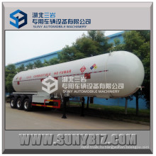 58500L Подгонянный поддув Q345r / Q370r Воздушный прицеп BPW 3-осный сжиженный газ (58.5m3 58.5cbm 58500L 58.5KL 24.5тонн)