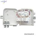 8 ports FTTH terminal box wall-mounted and pole-mounted fiber termination box