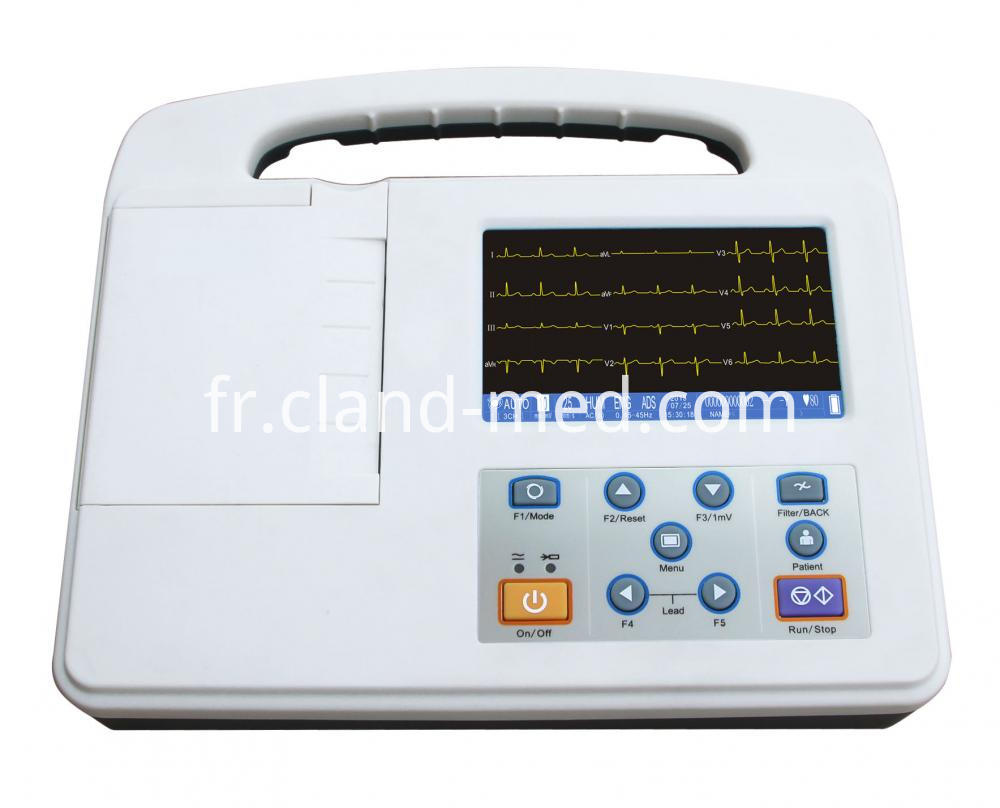 Ecg 2303g Front 3ch