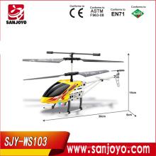 Helicópteros de oro del rc del helicóptero del rc de oro 3.5ch para la promoción de venta !! Helicópteros de juguete para adultos