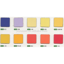 various color water proof HPL high pressure laminate easy clean indoor and outdoor decoration