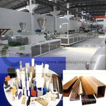 PVC-Profillinie / Plastikprofillinie / WPC-Profillinie / Profil-Verdrängungs-Linie / Plastikprofil, das Maschine herstellt